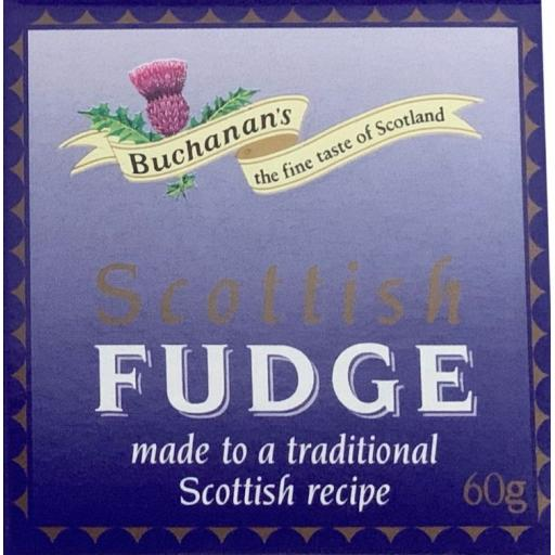Buchanan's Square Scottish Fudge 60g