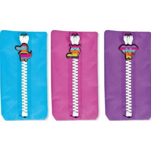 IGD Rascals Pencil Case - Assorted Colours