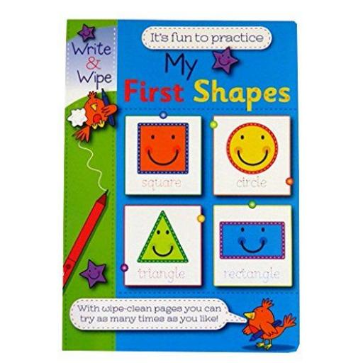 Write & Wipe A4 My First Shapes Book