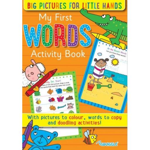 Squiggle My First Words Activity Book