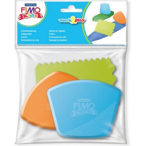 Staedtler Fimo Kids Work & Play Cutting Tools - Pack of 3