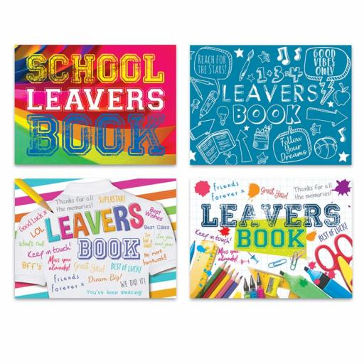 Tallon Leavers Book - Assorted Designs