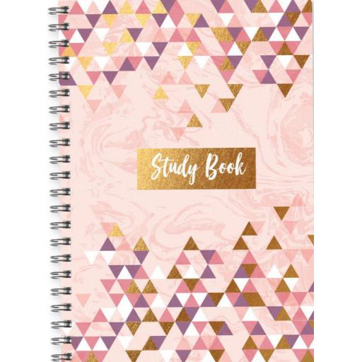 IGD A5 Study Workbook - Pink Gold Fashion