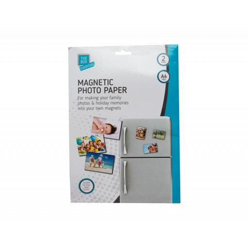 The Box A4 Magnetic Photo Paper - Pack of 2