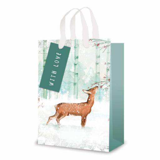 Tallon Perfume Size Gift Bag Forest Deer - Single