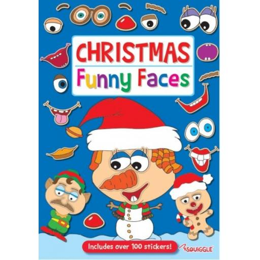 Squiggle Christmas Funny Faces Book