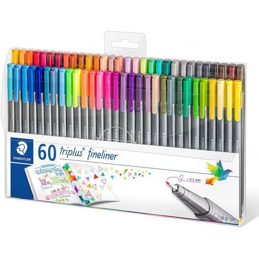 Staedtler Triplus Fineliner Pens - Case of 60