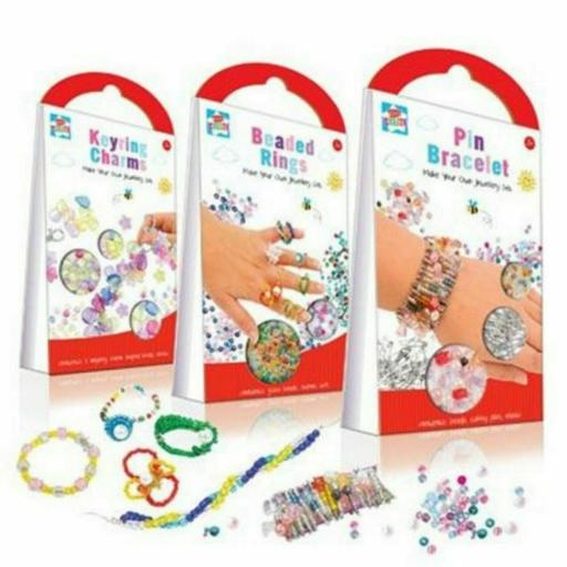 IGD Make Your Own Jewellery Set, Assorted Designs