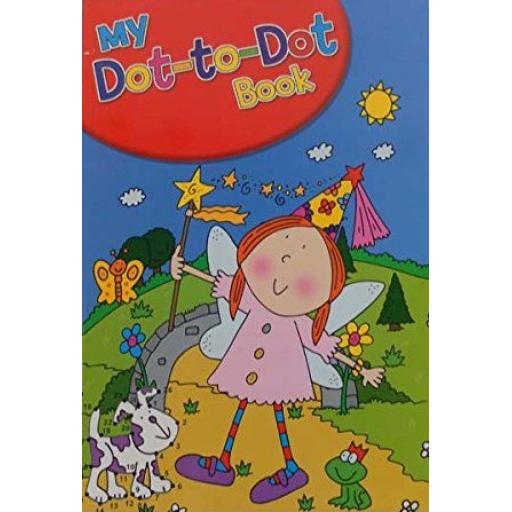 Squiggle A4 My Dot to Dot Books, Assorted Designs - Fairy Cover