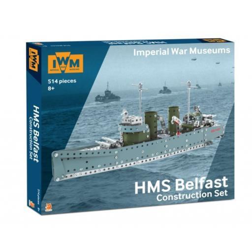 IWM Construction Model - HMS Belfast