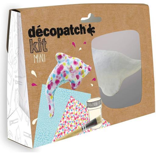Mini Decopatch Kit - Dolphin