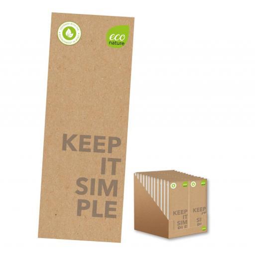 IGD FSC Approved Eco Slim Shopping Jotter