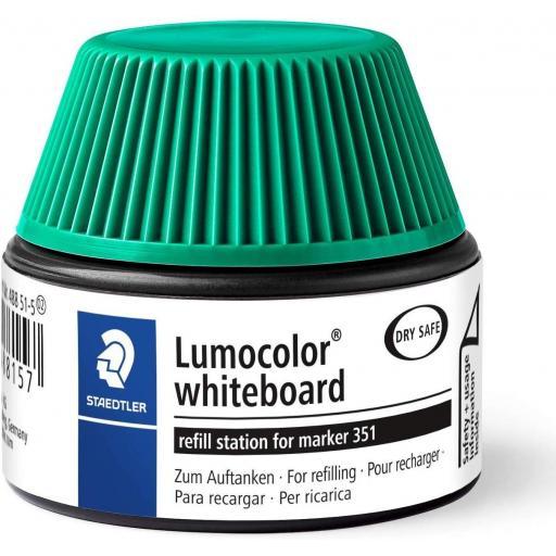 Staedtler Lumocolor Whiteboard Ink Refill - Green