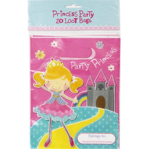 IGD Princess Party Loot Bags - Pack of 20