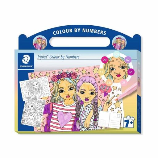 Staedtler Triplus Colour By Numbers - Fashion