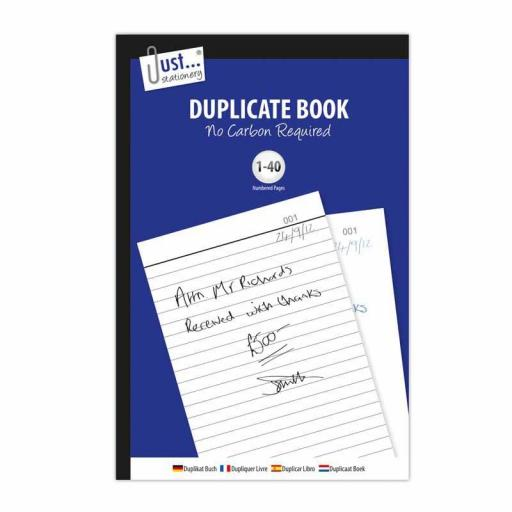 Duplicate Book NCR 1-40