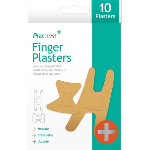 Proplast Finger Plasters - Pack of 10