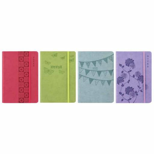 Easynote A4 Soft Touch Notebook - Pastel Colours