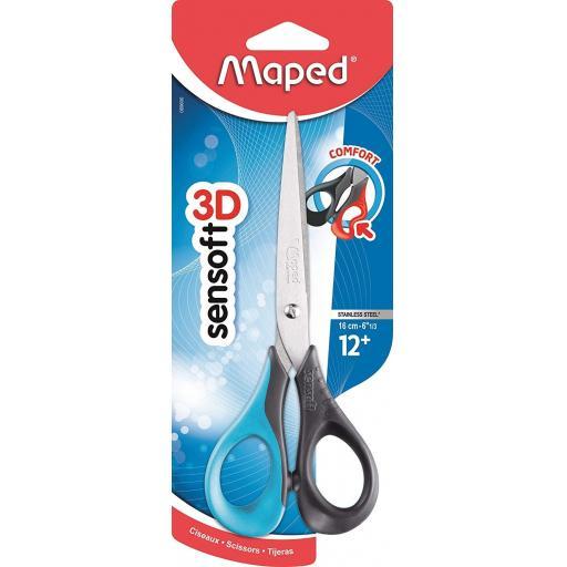 Maped Sensoft Right Handed Scissors - 16cm