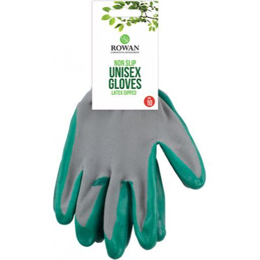 Rowan Non-Slip Unisex Gardening Gloves Size 10