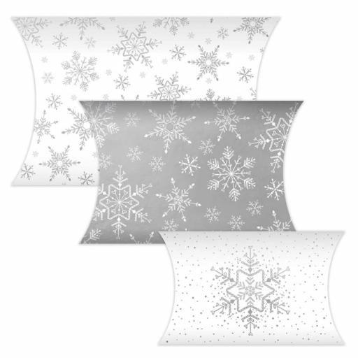 Festive Wonderland Christmas Gift Pouches - Pack of 3