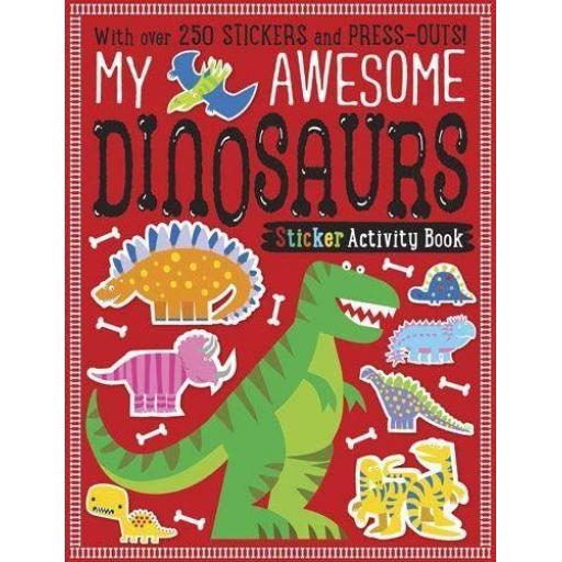 My Awesome Dinosaurs Sticker Activity Book