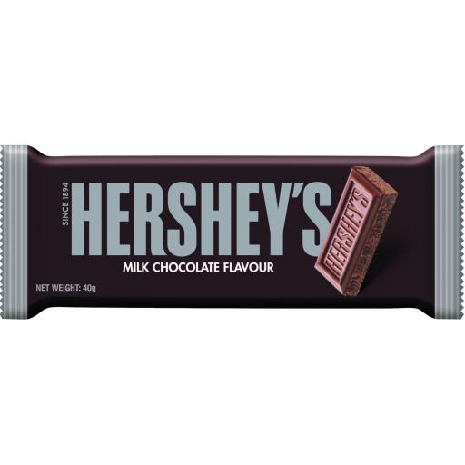 Hershey's Milk Chocolate Flavour Bar 40g