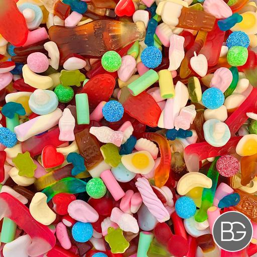BG Pick 'n' Mix Sweets - Non-Fizzy