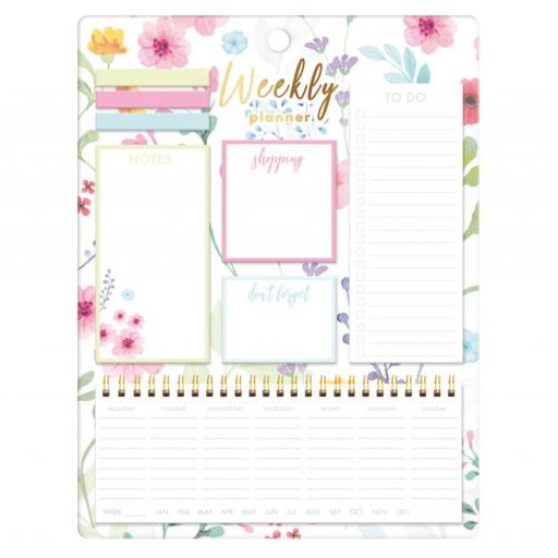 IGD Floral A4 Weekly Planner