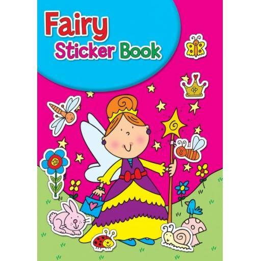 Squiggle A4 My Fun Colouring & Sticker Activity Book - Fairy