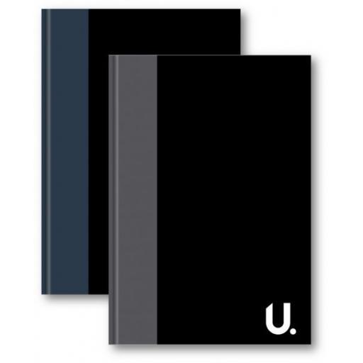 U. A4 Hardback Ruled Notebook - 100pg