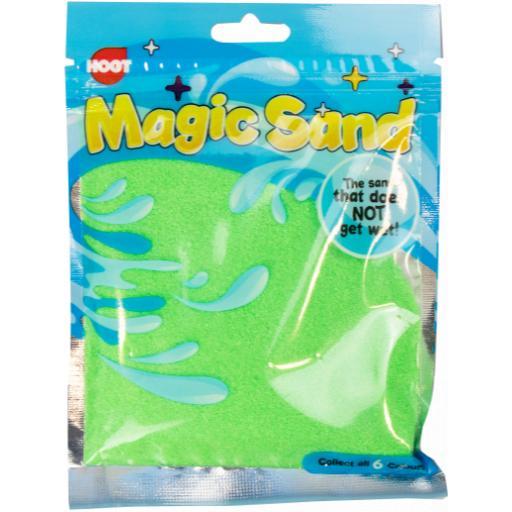 Hoot Magic Sand, Assorted Colours 120g