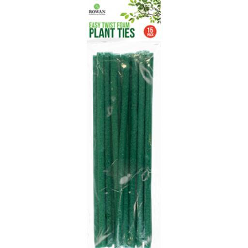 Rowan Easy Twist Foam Plant Ties - Pack of 15