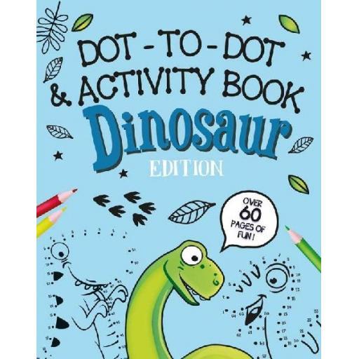 Eurowrap Dinosaur Dot-to-Dot Activity Book