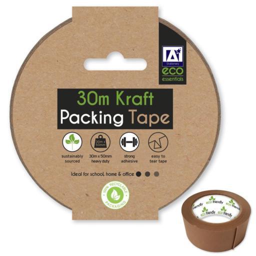 IGD Eco Kraft Packing Tape 30M