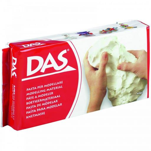 Fila DAS Modelling Clay 1kg Block - White