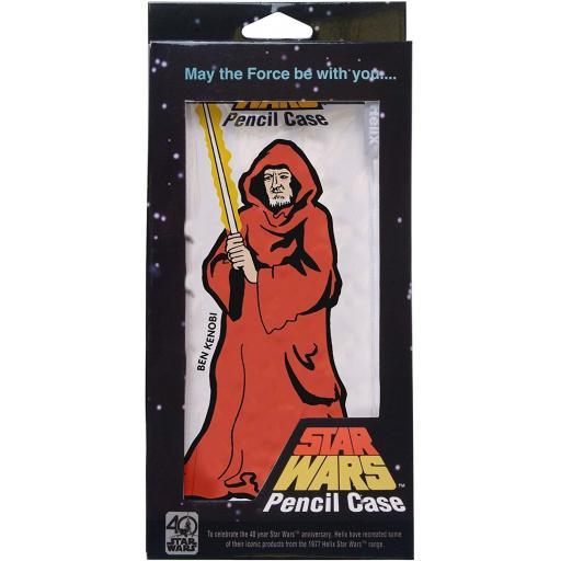 Helix Star Wars 40th Anniversary Retro Pencil Case - Only 1,000 Produced - Ben Kenobi