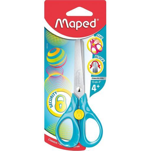 Maped Security Scissors - 13cm