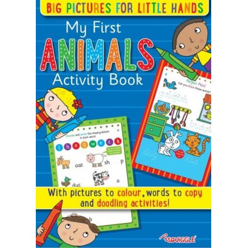 Squiggle My First Animals Activity Books