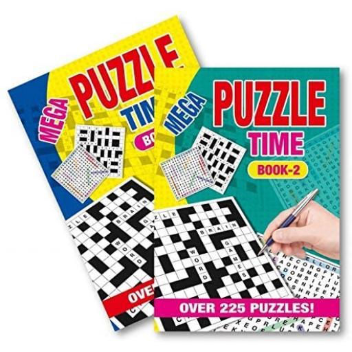Squiggle A5 Mega Puzzle Time Book - 1 Random Book