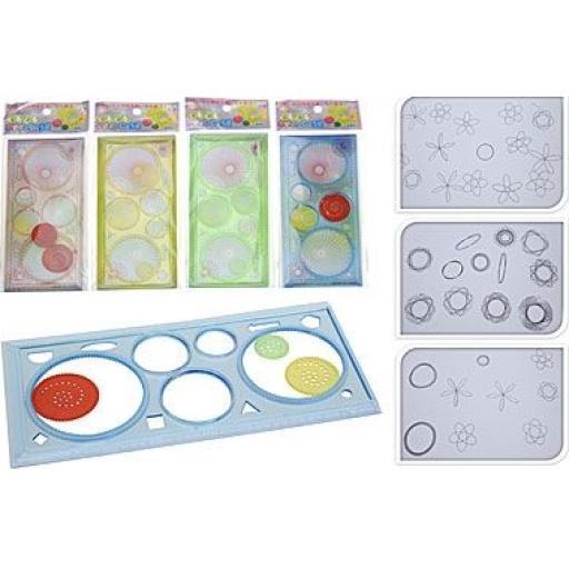 Martello Spiral Art Set, Assorted Colours