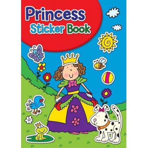 Squiggle A4 My Fun Colouring & Sticker Activity Book - Princess
