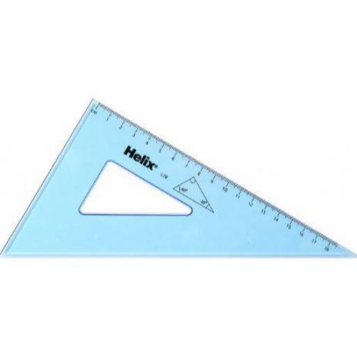 Helix Set Square 21cm - 60 Degree