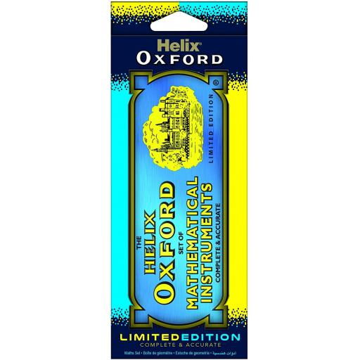 Helix Oxford Limited Edition Maths Tin Clash - Blue & Yellow