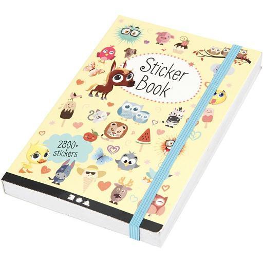 Creativ Sticker Book 2800+ Stickers