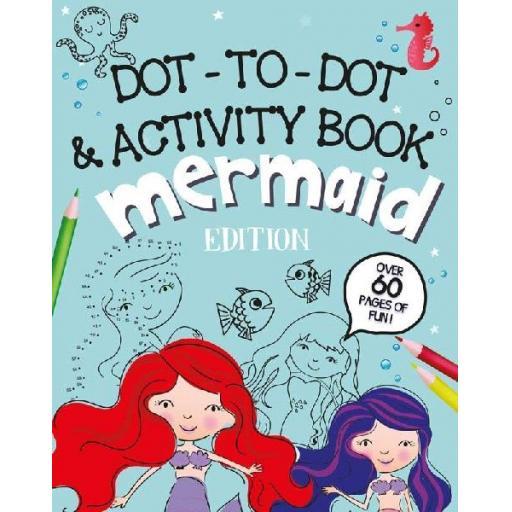 Eurowrap Mermaid Dot-to-Dot Activity Book