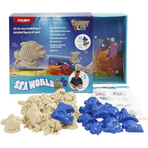 Paulinda Sandy Clay Seaworld Set