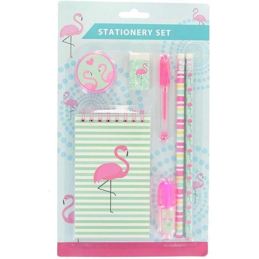 PMS Flamingo Design Stationery Set