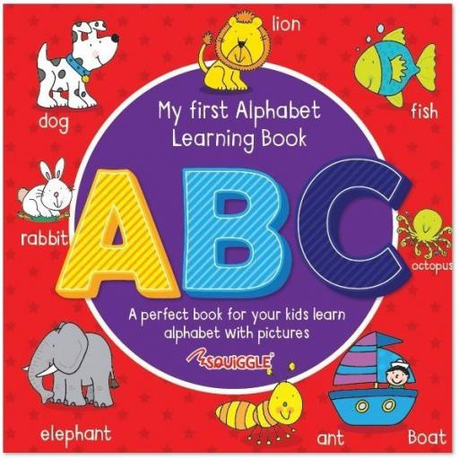 Squiggle My First Learning Book - ABC