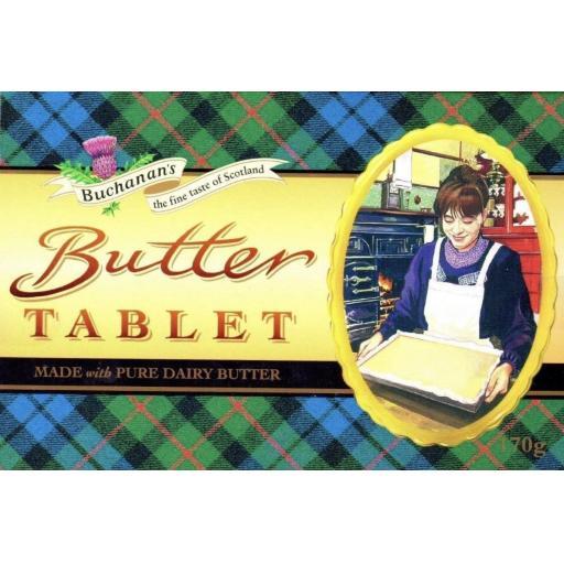 Buchanan's Butter Tablet Box 170g *BBE 10/21